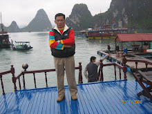 Me in Ha Long Bay, Hanoi