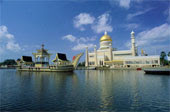 a mosque in Brunei