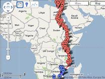 Cruzando a Africa