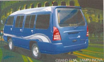 Mini Bus Grand Elsa Lampu Inova