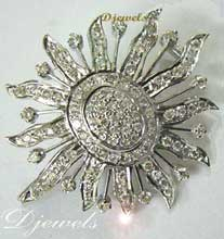 Diamond Broach