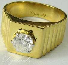 Diamond Gents Ring