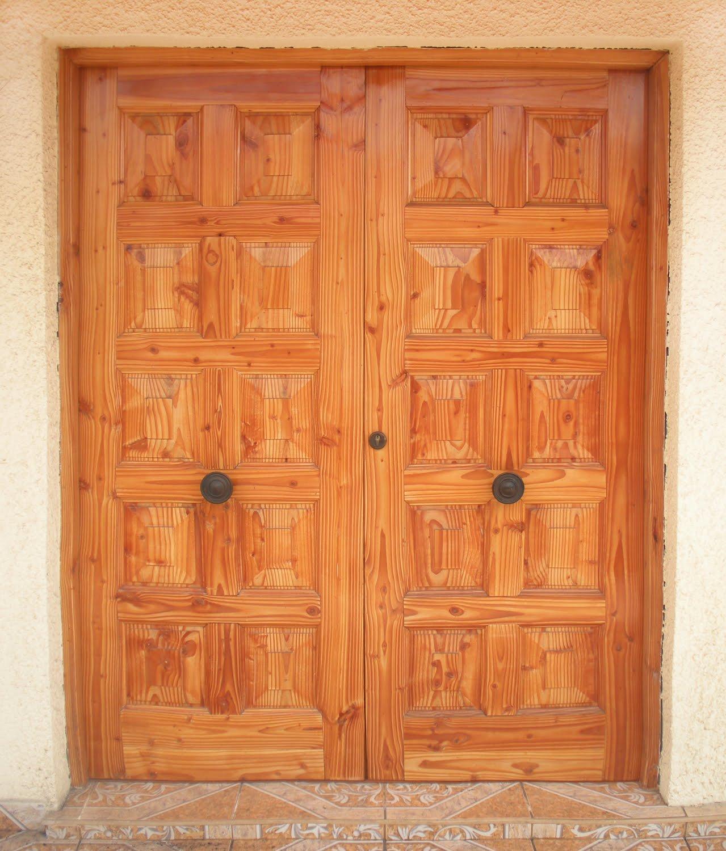 Maderas marabu puertas de acceso exteriores - Puertas de exterior ...