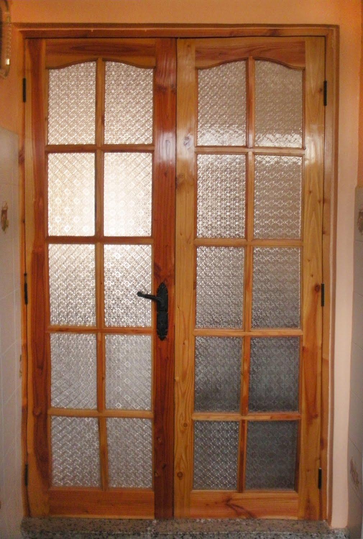 maderas marabu puerta interior