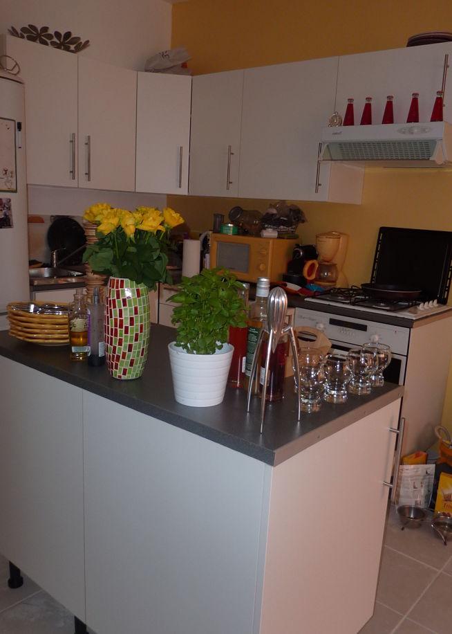 Chambre A Coucher Jeune Fille : Initiales GGAvantaprès  ma cuisine à petit prix
