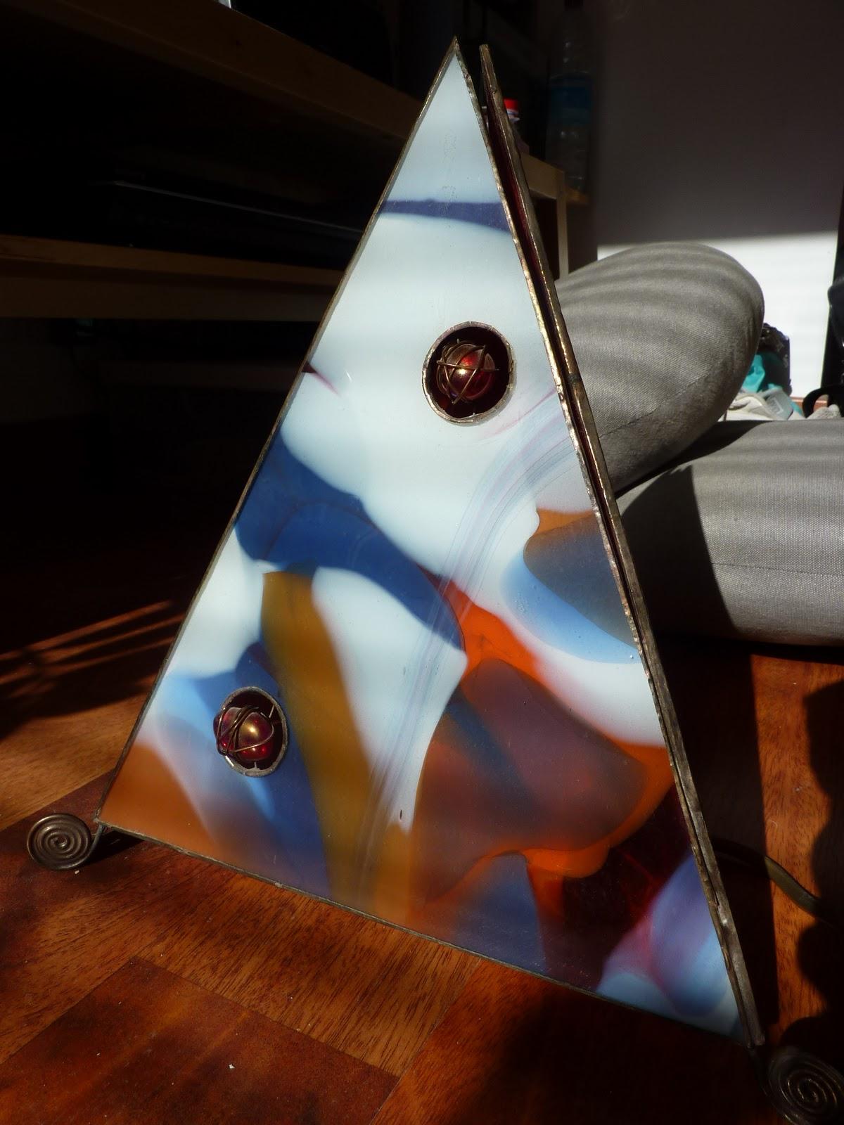 fabriquer une lampe de style tiffany