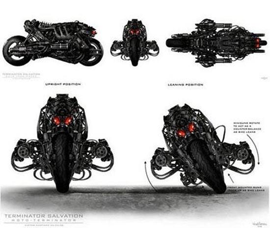 Coleccionando: Moto Terminator