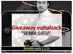 Giveaway Eqbalzack &#39;serba satu&#39;