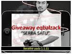 Giveaway Eqbalzack 'serba satu'