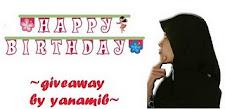 Saya Nak Hadiah Harijadi dari YanaMIB