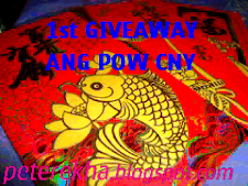 1st GiveAway Ang Pow Chinese New Year