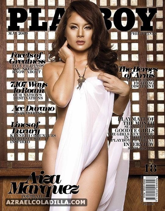 May 2009 Playboy Philippines Issue Aiza Marquez