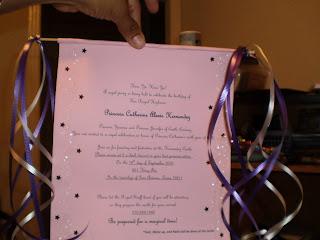 026 creativity princess scroll invitation,Diy Scroll Invitations