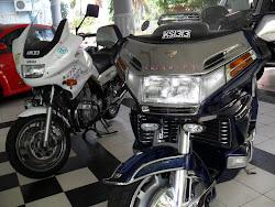 YAMAHA XJ900P & HONDA GOLDWING 1500CC