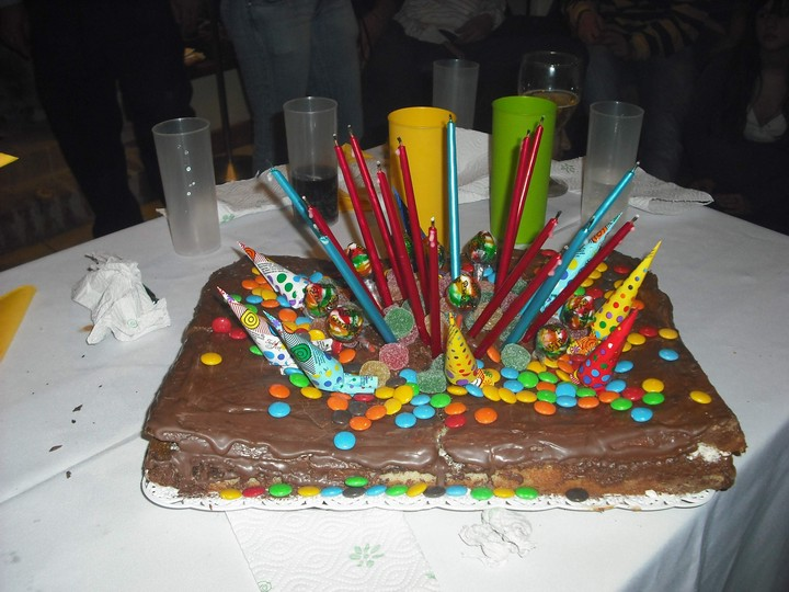 Receta / Torta de cumpleaños ~ blog gente
