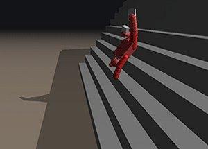 Stair Dismount freeware game