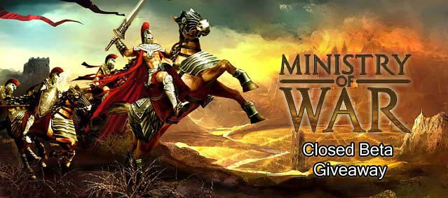 Ministry of War closed beta giveaway