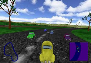 A Bugs Drive free racing game