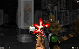 Action DooM free shooter game