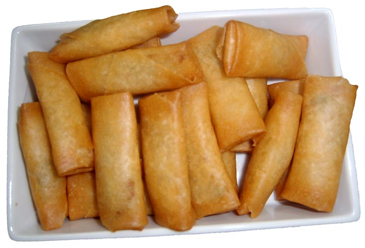 Hot N Steamy Food: Spring Rolls