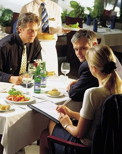 five tips for dining out