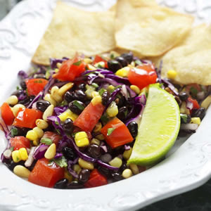 black bean and avocado salad recipe