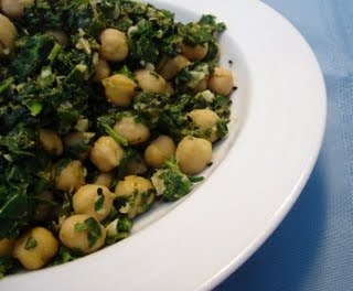 chickpea and spinach recipe posted by kaleena lawless