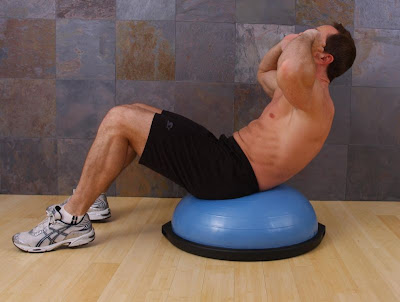 bosu exercises by personal trainer in toronto