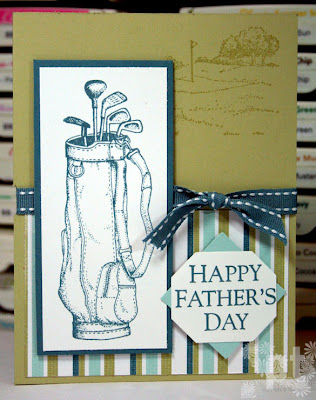 Fore Stampin UP golf airbornewife