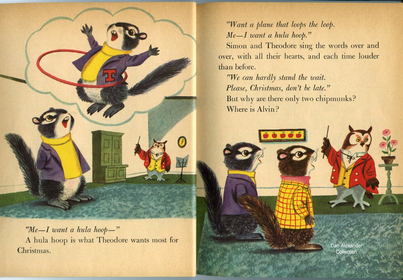 Dan Alexander Dizmentia: Alvin And The Chipmunks By Richard Scarry