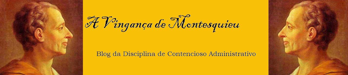 A Vingança de Montesquieu