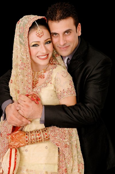 Humaima Malik with her ex-husband