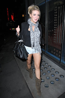 Sheridan Smith Leggy Candids