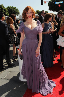 Christina Hendricks Big Cleavage