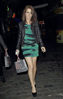Lucie Jones at the Pixie Lott Lipsy Party