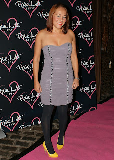 Sarah Cawood at the Pixie Lott Lipsy Party