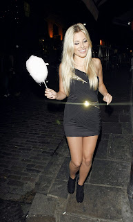 Mollie King at the Pixie Lott Lipsy Party