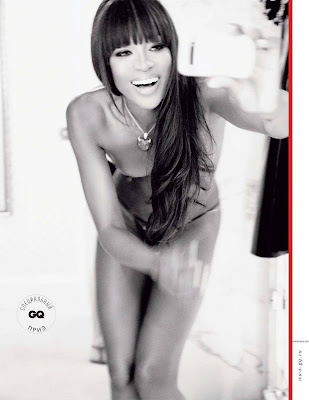 Naomi Campbell GQ Photoshoot