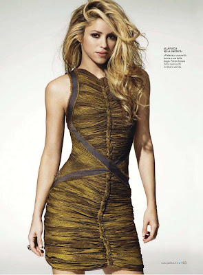 Shakira Jack Magazine Photoshoot