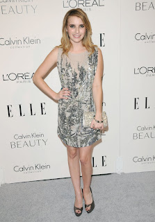 Emma Roberts at the Elle Women in Hollywood Tribute