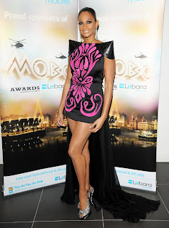 Alesha Dixon at the Mobo Awards