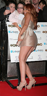 Natasha Hamilton at the Mobo Awards