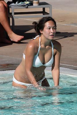 Myleene Klass Bikini Candids