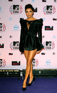 Eva Longoria at the MTV EMAs Round-Up