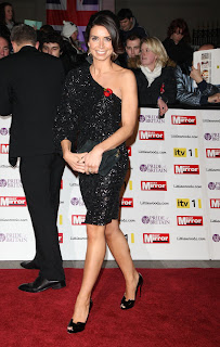 Christine Bleakley at the Pride of Britain Awards