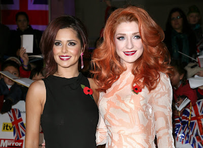 Cheryl Cole & Nicola Roberts at the Pride of Britain Awards