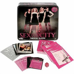 Sex And The City Trivia Game. The game was used once at my Sex And The City ...