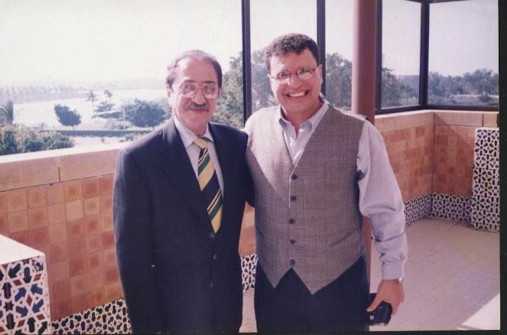 مع الممثل الكبير دريد لحام