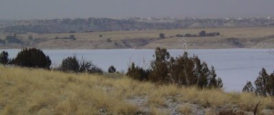 Upper end of Pueblo Reservoir, Jan. 21, 2008. Photo by Chas S. Clifton