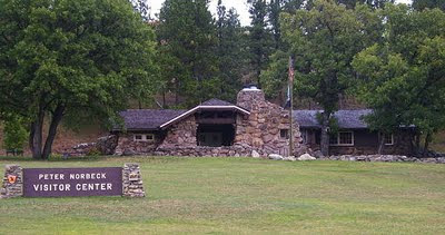 Norbeck Visitor Center, Custer State Park. Photo by Chas S. Clifton
